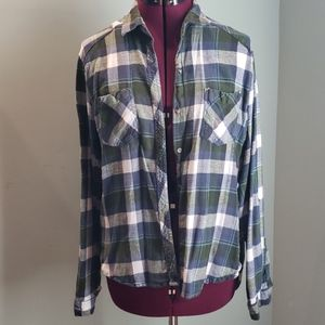 Comfy Flannel Long Sleeeve Size XL